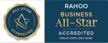 Rahoo - business all-start accreditation 2019