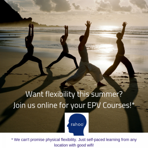 Flexible online CPD summer courses with Rahoo
